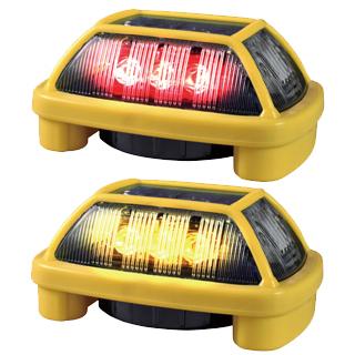 電池式警告灯