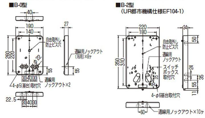 未来工業(ミライ) 積算電力計・計器箱取付板の商品詳細一覧