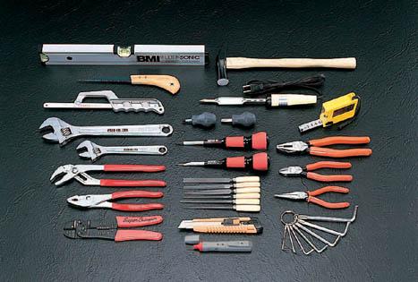 機械修理用工具セット、一般工具セット、電気工事、配管工具セット 設備工事用工具セット ソケットス